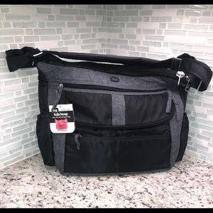 Lug Hula Hoop Carry All Bag messenger diaper bag